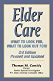 Elder Care, Thomas M. Cassidy, 0882822462
