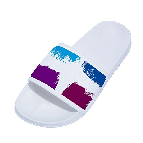 White Slippers Womens Watercolor for Brush Watercolor Drying Slippers Buteri Pigment Slip Quick Non q1RxCO7Cw