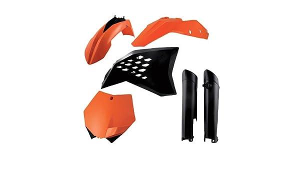Acerbis Full Plastic Kit Original 10 for KTM 200 XC 2008-2009