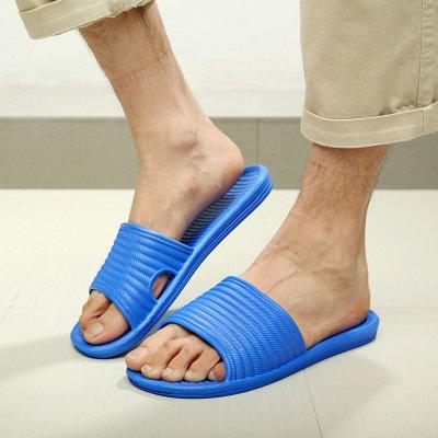 de Summer anti et Pantoufles salle CWJDTXD de pantoufles bains bleu d'été doux et home femmes sandales 45 intérieur fond royal dérapant hommes léger ménage pantoufles mousse qvwE7