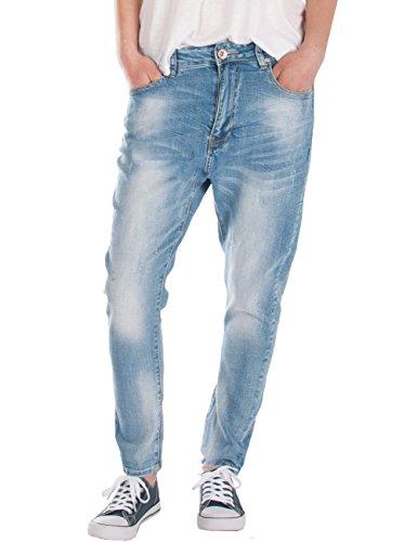 Fraternel Pantalones Vaqueros mujer boyfriend Azul Claro