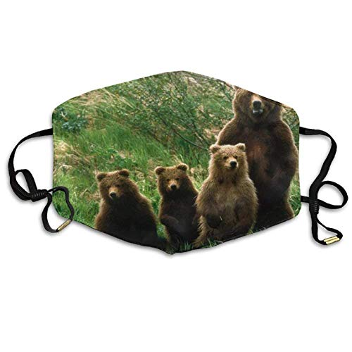 Brown Bear Family Comfortable Anti-Pollution Breathable Health Anti Pollution Windproof Mouth Masks