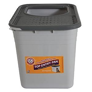 9. Petmate Arm & Hammer Top-Entry Litter Pan