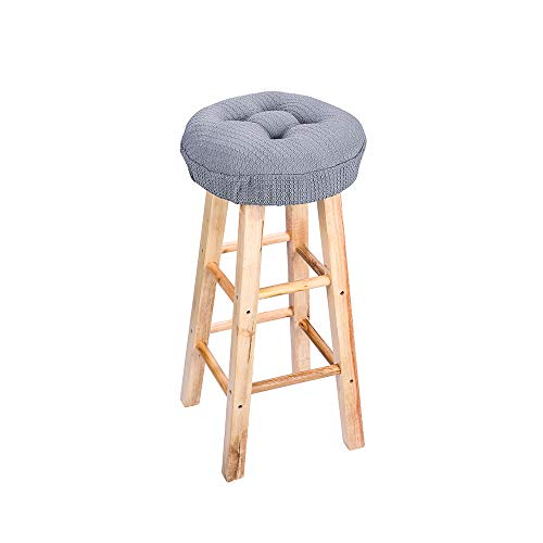 Magnificent 12 5 Round Padded Bar Stool Cover Cushion Suitable For 12 Ibusinesslaw Wood Chair Design Ideas Ibusinesslaworg