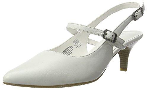 GERRY Escarpins Fermé Blanc 10 Linette Bout Weiss WEBER Weiß Femme OSTOrn