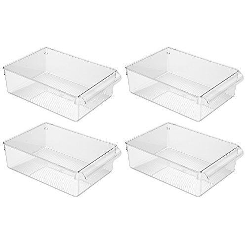 InterDesign Kitchen Cabinet Organizer Pack Clear
