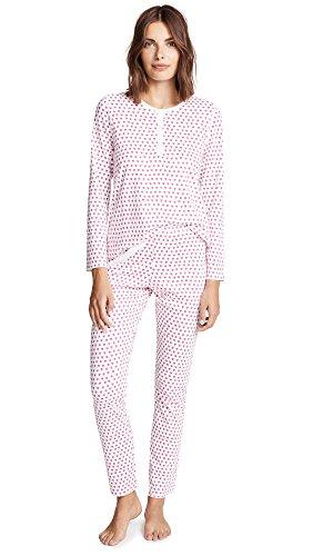 - Roller Rabbit Women's Hearts PJ Set, Pink, X-Large