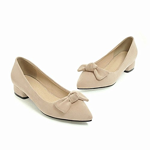 Scarpe Basso Comfort Tacco Punta Womens Foot Fiocchi A Charm Scarpe 4Iqzwanx