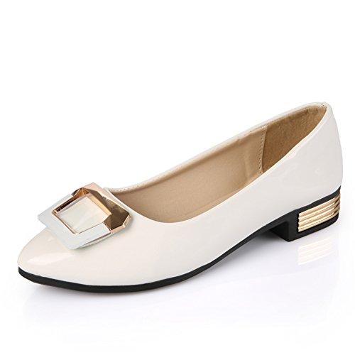 moda mujer zapatos planos/Shui TOU taladro superficiales zapatos de suela suave/Zapatos de tacón plano B