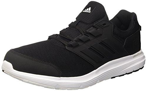 adidas Herren Schuhe Laufendes Galaxy 4 Trainer Cloudfoam Training Schwarz Neu BB3563 Weiß schwarz
