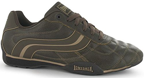 Mens Motif Lace Up Camden Trainers Sports Footwear Brown Dist shop cheap online sale countdown package wiki for sale cheap eastbay sale sast y6pzlI2BF3