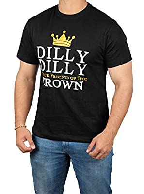 Dilly Dilly A True Friend of The Crown T Shirt - Mens Adult Beer Shirt by Miracle