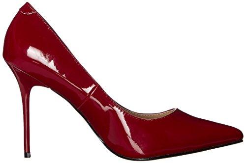 Femme Du Classique Talons 20 À avant Pleaser Chaussures Raspberry Pat Pieds Couvert YwRTxnYzqI