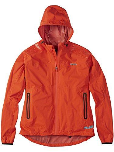 Madison 2015 Womens Flux Jacket Chilli Red 12 (Madison Light Twelve)