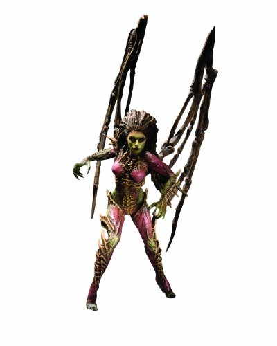 DC Unlimited Starcraft Premium Series 2: Kerrigan, Queen of Blades Action - Starcraft 2 Action Figures