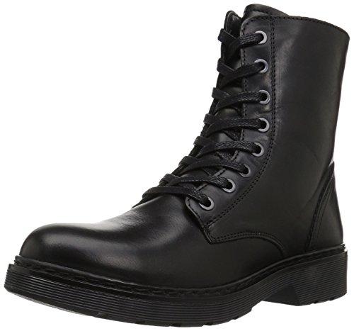 Aldo Kvinna Oliede Boot, Svart Läder, 8b Oss