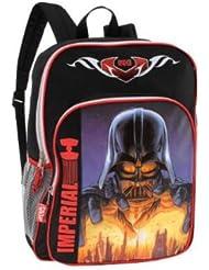 Star Wars Darth Vader Imperial Black 16 Inch Backpack