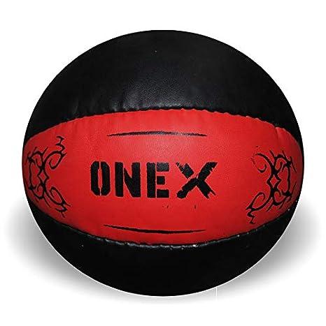 Onex 7 kg Heavy Duty Crossfit balón medicinal de piel Para ...