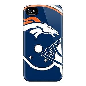 ErleneRobinson Iphone 4/4s Best Hard Phone Cases Custom Realistic Denver Broncos Image [mWp2072JGGD]