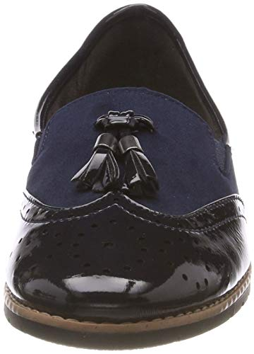 navy Softline 24260 Loafers Women''s 21 Blue 805 vqXUTqx
