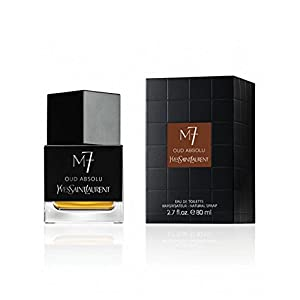 YSL M 7 Oud Absolu Eau de Toilette Spray for Men, 2.7 Ounce