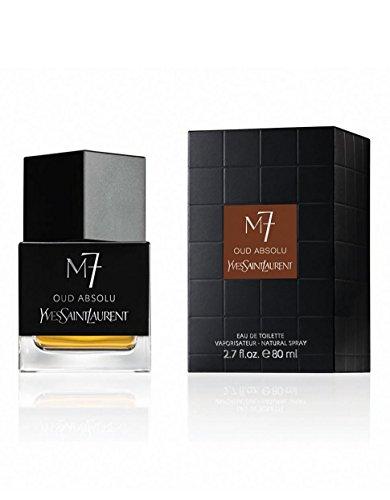 YSL M 7 Oud Absolu Eau de Toilette Spray for Men, 2.7 Ounce