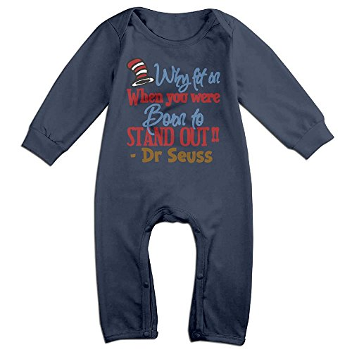 Baby Climbing Clothing Baby Long Sleeve Garment Why Fit In When You Were Born To Stand Out For Kids Boys Girls