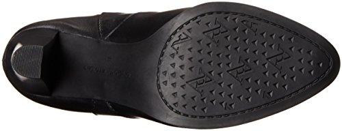 Motorcycle Adrienne Women's 1 Vittadini Black Tex Footwear Boot Unfpq
