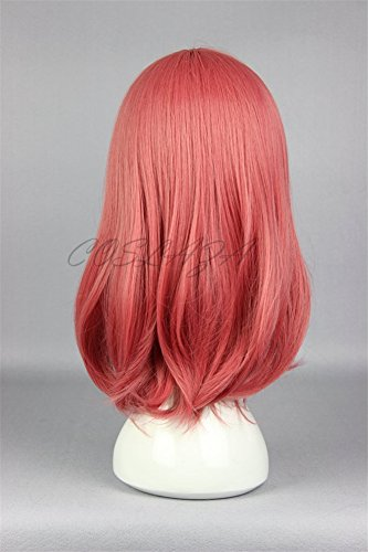 COSPLAZA Cosplay Wigs Halloween Party Hair Synthetic Wig Heat Resistant Watermelon Pinky by COSPLAZA (Image #3)