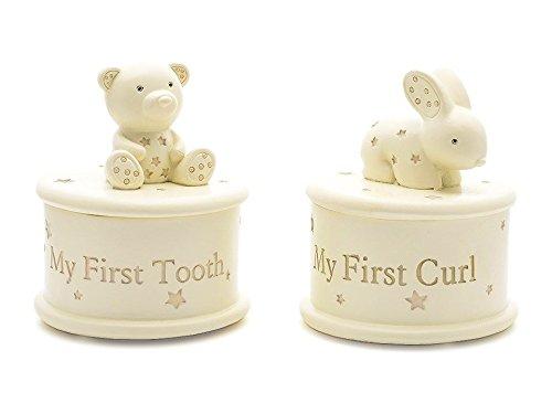 Bambino Kinder Erinnerungsbox Erster Zahn Erste Haare Set