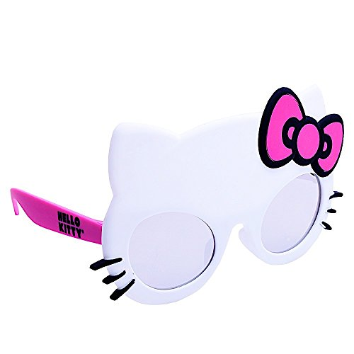 Sun-Staches Costume Sunglasses Lil' Characters Hello Kitty Small Party Favors -