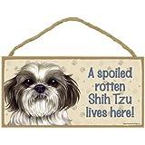 Shih Tzu Dog Silhouette Mailbox Topper//Sign