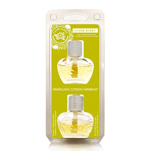 Claire Burke Sparkling Citron Verbena Electric Fragrance Warmer Refill by Claire Burke