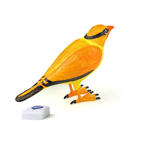 Call Wireless - Home Wireless Simulation Bird Remote Control Chime Doorbell Digital Doorbells - Sunglasses Door Motion Radio Call Doorbel Doorbell Viewer Daisy Button Home Battery Sensor Glasse