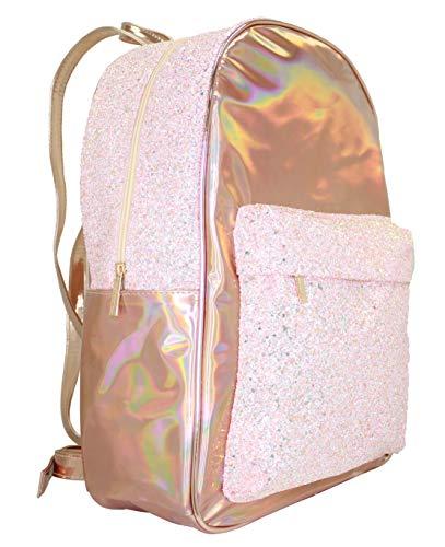 American Jewel Disco Vibe Rose Gold Backpack ()