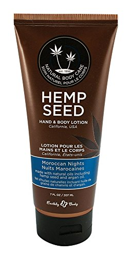 Earthly Body Hemp Seed Hand & Body Velvet Lotion 7oz Tube - Assorted Scents (Moroccan Nights)