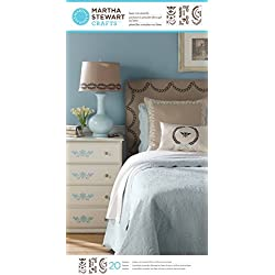 Martha Stewart Crafts Large Stencils (8.75 by 16.75-Inch), 32975 Classic Accents (3 Sheets with 20 Designs)