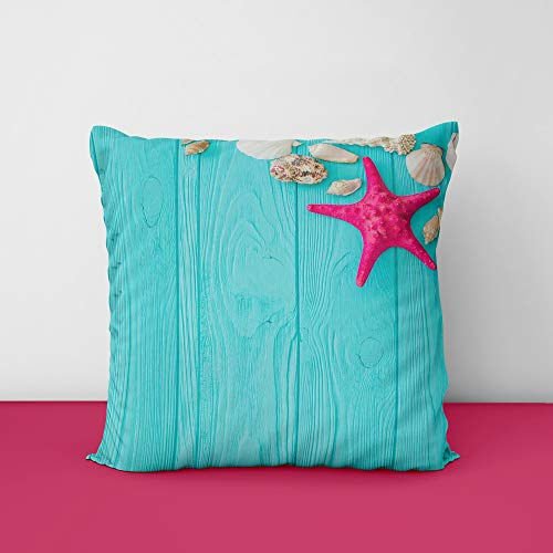 41SzpnhNbNL Star Fish Designs Printed Square Cushion Cover