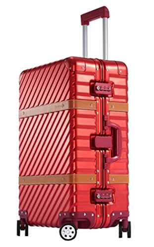 occa-aluminum-magnesium-alloy-metal-suitcase-spinner-luggage-24-inch-red