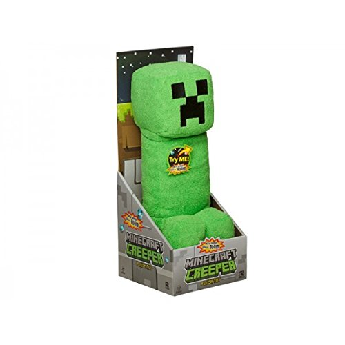 Mojang Official Minecraft Creeper Plush with Sound by Jin...