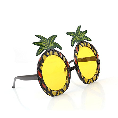 Zytree(TM) New Hawaiian Beach Sunglasses Pineapple Goggles Hen Night Stag Party Fancy Dress Party Event Supplies - Goggles Fancy