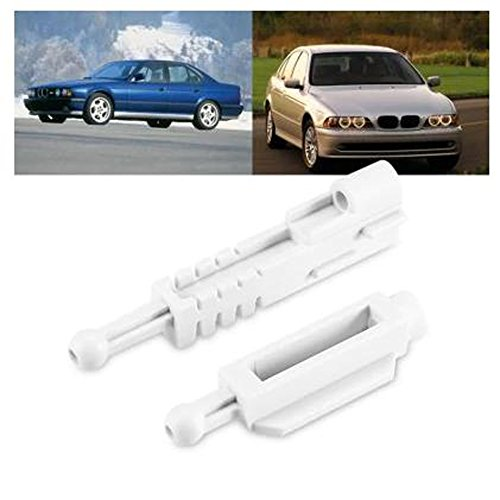 IDS Home 2 Sets Headlight Adjuster Repair Kit For BMW 5-Series E39 (1995-2000) ()
