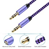 AUX Cord for Car, Ailkin 2 Pack 3.5mm Auxiliary