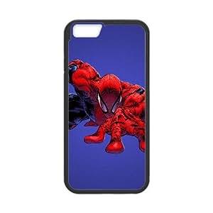 Design Cases Shell iPhone 6s Plus 5.5 Inch Cell Phone Case Black elovek pauk spider man fon kino Kroqg Printed Cover
