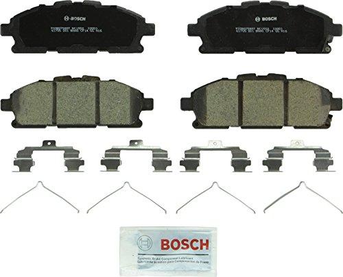 Quest Brakes Nissan - Bosch BC1552 QuietCast Premium Ceramic Front Disc Brake Pad Set