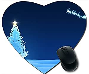 Christmas Bluetree And Snowmobiles Mouse Pad Desktop Mousepad Laptop Mousepads Comfortable Office Of Mouse Pad Mat Cute Gaming Mouse Pad