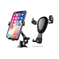Suporte Veicular Mesa Gravity Rock iPhone X/8/7/Plus/Galaxy S9/S8/plus/s7/note8-5 (Cinza)