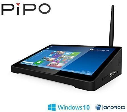 Bolv PIPO X9 8.9 inch 1920 x 1200 LCD screen display Dual Boot Smart TV Box Mini PC Windows 10 & Android 4.4 Intel Z3736F Quad Core 2.16GHz 2G+64G set-top box: Amazon.es: Electrónica