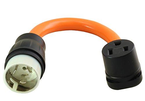 AC WORKS 6-50 Welder Adapter (CS6365/ SS2-50 50A 4-Wires Locking to 6-50)