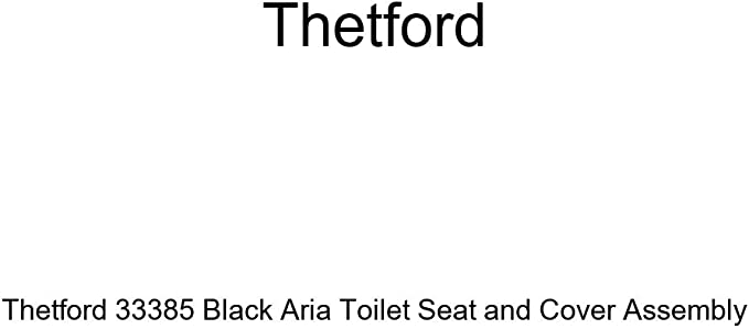 Thetford 33384 White Aria Toilet Seat and Cover Assembly